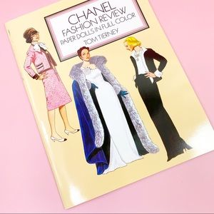 Vintage Chanel Fashion Review Paperdoll Book